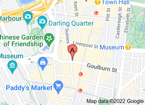 Map of BBQ King, Haymarket, Sydney