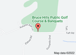 Map of Bruce Hills Golf Course