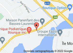 Carte clinique podiatrique à Boisbriand