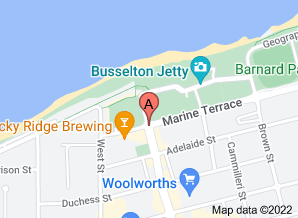 Map of The Equinox, Busselton. Click for larger map