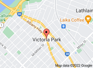 Map of Yummy House, Victoria Park - Click for larger map
