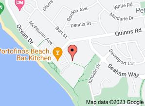 Map of Portofino's restaurant, Mindarie - click for larger map