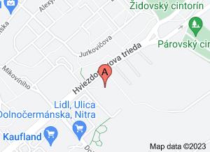 mapa OPHTO, s.r.o.
