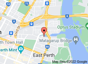 Map of Havana Restaurant, East Perth. Click for larger map