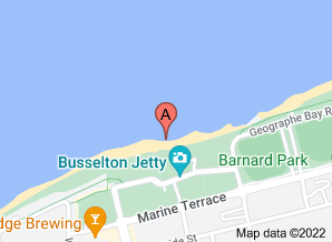 Map of The Goose, Busselton - click for larger map