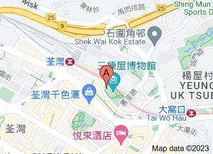 三栋屋博物馆在 google 地图的位置
