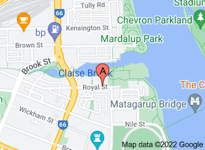 Map of Toast, East Perth - click for larger map