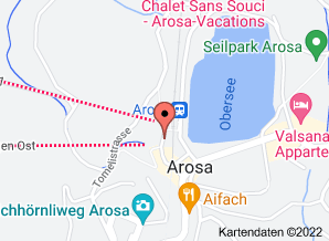 Google Maps Skishop Beck Arosa