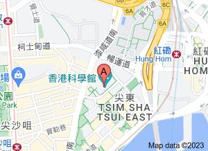 香港科学馆在 google 地图的位置