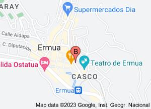 Mapa de localización de Google Maps