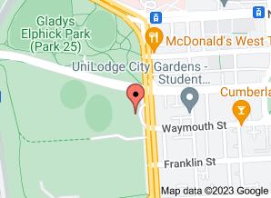 Google Maps - Adelaide School of the German Language