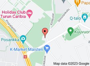 Google Kartbild av Kaarinan VPK:s läge