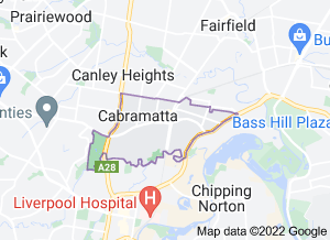 Map of Cabramatta