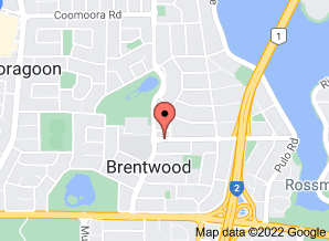 Map of Riley's Wood Fired Cafe, Brentwood - click for larger map