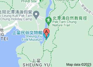 上窰民俗文物館在 google 地圖的位置