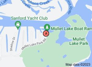 map of mullet lake park