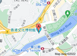 香港文化博物館在 google 地圖的位置