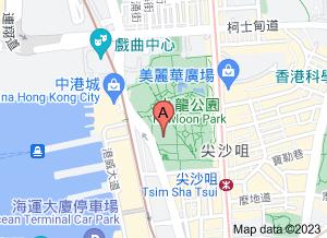 香港文物探知館在 google 地圖的位置