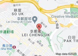 李鄭屋漢墓博物館在 google 地圖的位置