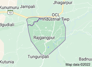 Rajgangpur from Google Maps