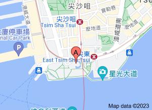 香港太空館在 google 地圖的位置