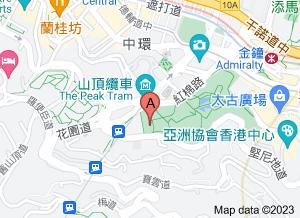 香港視覺藝術中心在 google 地圖的位置