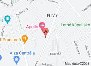mapa ABSOLUT OPTIK spol. s r.o.