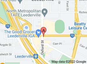 Map of Chocolateria San Churro, Leederville