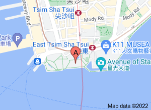 香港藝術館在 google 地圖的位置