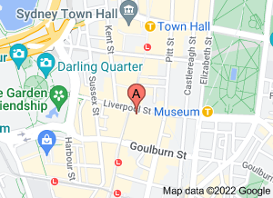 Map of Din Tai Fung, World Square, Sydney - click for larger map