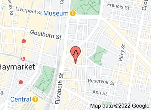 Map of Cafe Ish, Surry Hills - click for larger map