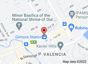 LRT 2 Gilmore Station - Google Maps