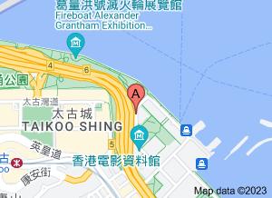 香港电影资料馆在 google 地图的位置
