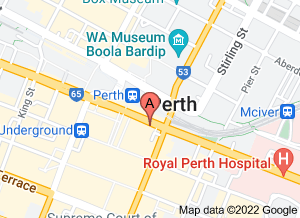 Map of Nespresso Boutique, Murray St Mall, Perth - click for larger map