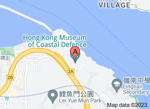香港海防博物馆在 google 地图的位置