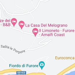 Furore Italy Map.Furore Incampania