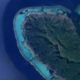 Papetoai Moorea Island Beach Front Hotels Resorts Cottages
